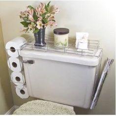 Toilet Caddy- 3 in 1 Organizer