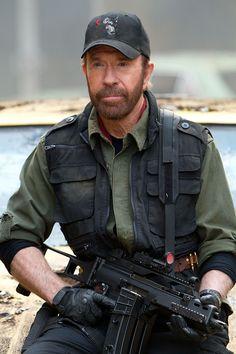 """Chuck Norris tiene de apodo: """"Game Over""""."""