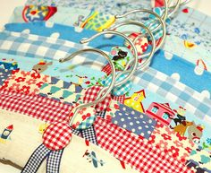 Clothes hangers for baby boys by Holland Fabric House, via Flickr