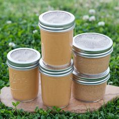 Got a full house? Stock up and get 3 jars of Coconut Peanut Butter and 2 jars of Coconut Almond Butter. Coconut Peanut Butter, Almond Butter, California Almonds, Shelf Life, Full House, Smoothies, Stuff To Do, Mason Jars, Pure Products