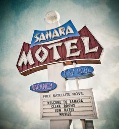 Sahara Motel by Shakes The Clown, via Flickr