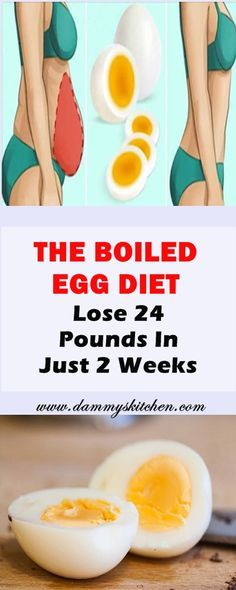 The Boiled Egg Diet – Lose 24 Pounds In Just 2 Weeks #diet #losepounds #health #healthcare