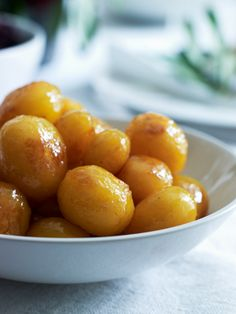 Danish browned potatoes recipe christmas dinner side dishes caramelled potatoes are always served as fitting on the danish christmas dinner table forumfinder