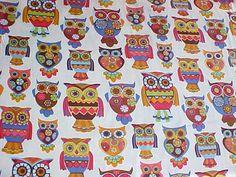 Retro Owls 1960s