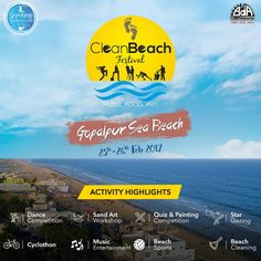 Love Beach Vacation? You got to experience this amazing #BeachFestival in #India: #Guide to #CleanBeachFestival  #TraveltoIndia IndiaTour #TourinIndia  ... - Trisha Sen - Google+