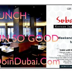 COOL KOREAN COMPETITION | Do in Dubai Lovely lunch deal