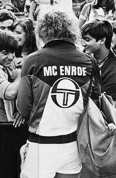 Larger than life, John McEnroe