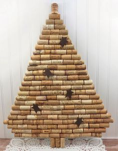 Page not found - Pintagram Online Cork Christmas Trees, Christmas Deco, Christmas Projects, Christmas Ornaments, Wine Cork Art, Wine Cork Crafts, Wine Corks, Christmas Crafts For Kids To Make, Xmas Crafts