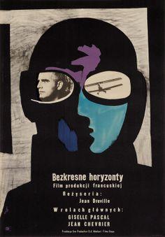 Designer: Fangor Wojciech  Title: Bezkresne Horyzonty. 1958. French film.