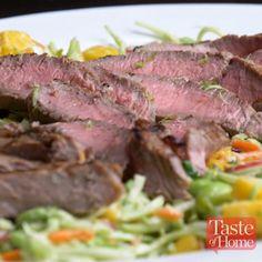 Asian Slaw with Steak Recipe