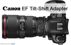 Canon's Coming Electronic Tilt-Shift Adapter that Works With Every EF Lens
