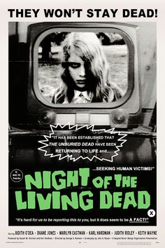 "vintagegal: "" Night of the Living Dead (1968) dir. George A. Romero """