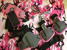 cool guns for womens Home Defense, Self Defense, Pink Guns, Concealed Carry Women, Tac Gear, Cool Guns, Everything Pink, Guns And Ammo, Girls Be Like