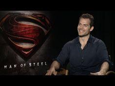 #ManofSteel - Cast Interviews. VIDEO