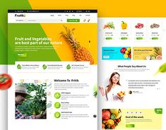 This is my new concept for e-commerce business. Frutik Provides fresh fruits and vegetables. It's a modern and very clean design :)Hope you'll love it. About Us Page Design, Vegetable Delivery, Engineering Memes, Fresh Fruits And Vegetables, User Interface, Ecommerce, Web Design, Behance, Gallery
