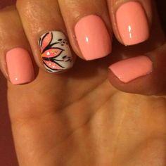 Summer Nails Nails ❤ liked on Polyvore featuring beauty products, nail care, nail treatments and nail