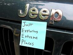 Just Exploring Extreme Places Auto Jeep, Jeep Xj, Jeep Cars, Wrangler Rubicon, My Dream Car, Dream Cars, Jeep Store, Jeep Quotes, Jeep Humor