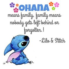 Ohana Significa Familia Y Tu Familia Nunca Te Abandona Ni Te Olvida