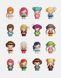 hama beads plantillas anime ghaisa - Buscar con Google