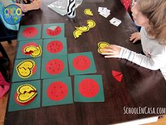 Fractions with Heart (includes free printables) from School en Casa