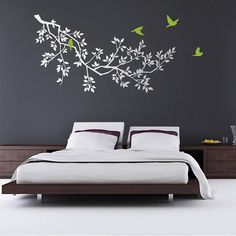 In this article most beautiful wall stickers with you. Wall stickers looks very nice. You can beautify your home in just a few minutes. The use of wall stickers is easy.
