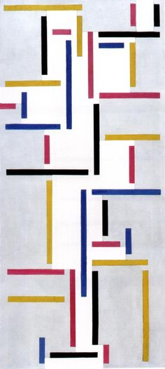 Cave to Canvas, Theo van Doesburg, Russian Dance, 1918