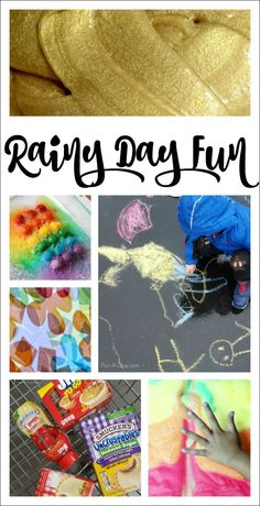 Rainy Day Activities for Kids - 7 ideas to save a rainy Spring Break