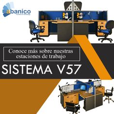 Conoce más sobre nuestra nueva línea de estaciones V57, ABANICO te brinda el soporte y la asesoría necesaria para la instalación y/o remodelación de tu oficina. ¡Ven y visítanos! Contáctanos al tel. 2440-1607