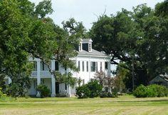 "Felicity Plantation, Great River Road, Vacherie, LA.  Built in 1846, the movie ""The Skeleton Key"" was filmed here."