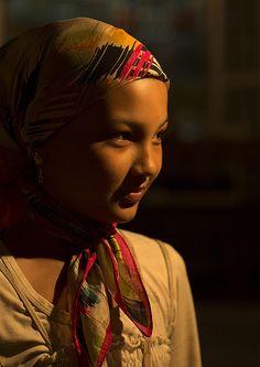 Young Uyghur Girl, Hotan