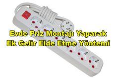 Evde Üçlü Priz Montajı Yaparak Ek Gelir Elde Etme - http://hobiteyze.com/evde-uclu-priz-montaji-yaparak-ek-gelir-elde-etme.html