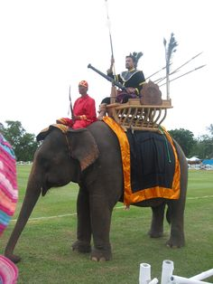 Behind the scenes in Thailand! Parade of elephants at Kings Cup Elephant Polo in Hua Hin Thailand