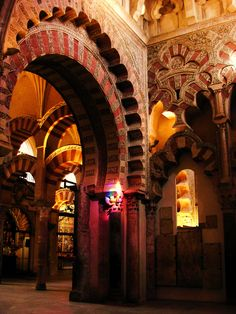 Mosque-Cathedral of Córdoba, Spain. Visigothic Catholic Church from Islam Catholic Church Famous Architecture, Historical Architecture, Ancient Architecture, South Of Spain, Cathedral Church, Place Of Worship, Andalusia, Moorish, Countries Of The World