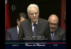 Testo integrale del messaggio del Presidente della Repubblica Sergio Mattarella al Parlamento nel giorno del giuramento