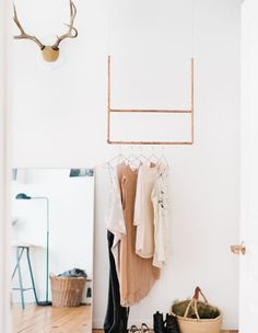 Simple, effective. (http://theeverygirl.com/madelynn-furlongs-minneapolis-apartment-tour) Photographed By: Wing Ta