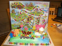 Candyland-Cake-Decoration-Ideas.jpg (1024×768)