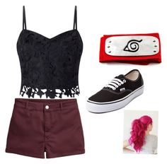"""""""Untitled #3"""" by deszzygirl-1 on Polyvore featuring Vans and Lipsy"""