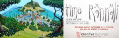 Creative, Opening Night, Artist, Painting, Willow Street, Wall Painting, Night