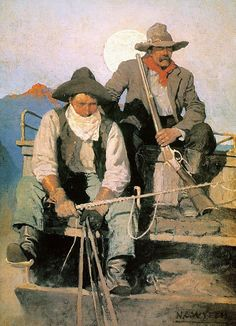 N.c. Wyeth: The Pay Stage