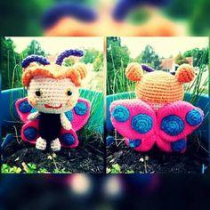 #butterfly #schmetterling #crochet #häkeln #handmade #handarbeit