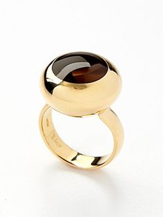 Tito Pedrini Blair Smokey Quartz Ring