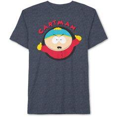 Jem Men's South Park Eric Cartman Graphic-Print T-Shirt (2.835 HUF) via Polyvore featuring men's fashion, men's clothing, men's shirts, men's t-shirts, navy spkl, old navy mens t shirts, mens navy blue t shirt, mens graphic t shirts, mens t shirts and old navy mens shirts