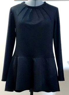 Woman's Fashion - Custom designed Peplum top