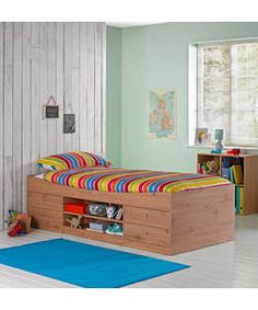 Malibu Blue Cabin Bed With Bibby Mattress