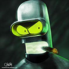 B for Bender by fubango.deviantart.com on @DeviantArt