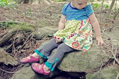 "PDF ""The Petunia Petal Pants"" 3- LENGTH LEGGINGS E-Pattern and Detailed Tutorial...sizes 2-12years. $9.95, via Etsy."