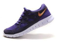 Nike Free Run 2 Men Grey Purple