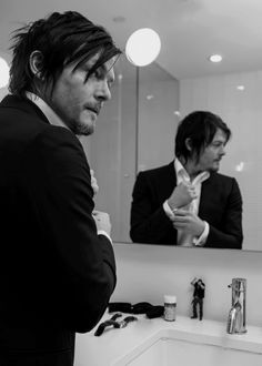 Norman Reedus photographed by Sue Kwon in 2013