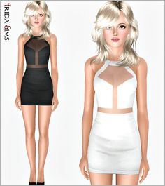 Dress 60-I by Irida - Sims 3 Downloads CC Caboodle