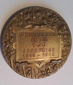 Medaille von 1913 zur Jahrhundertfeier der Völkerschlacht bei Leipzig - Wert? http://sammler.com/medaillen/#Mails